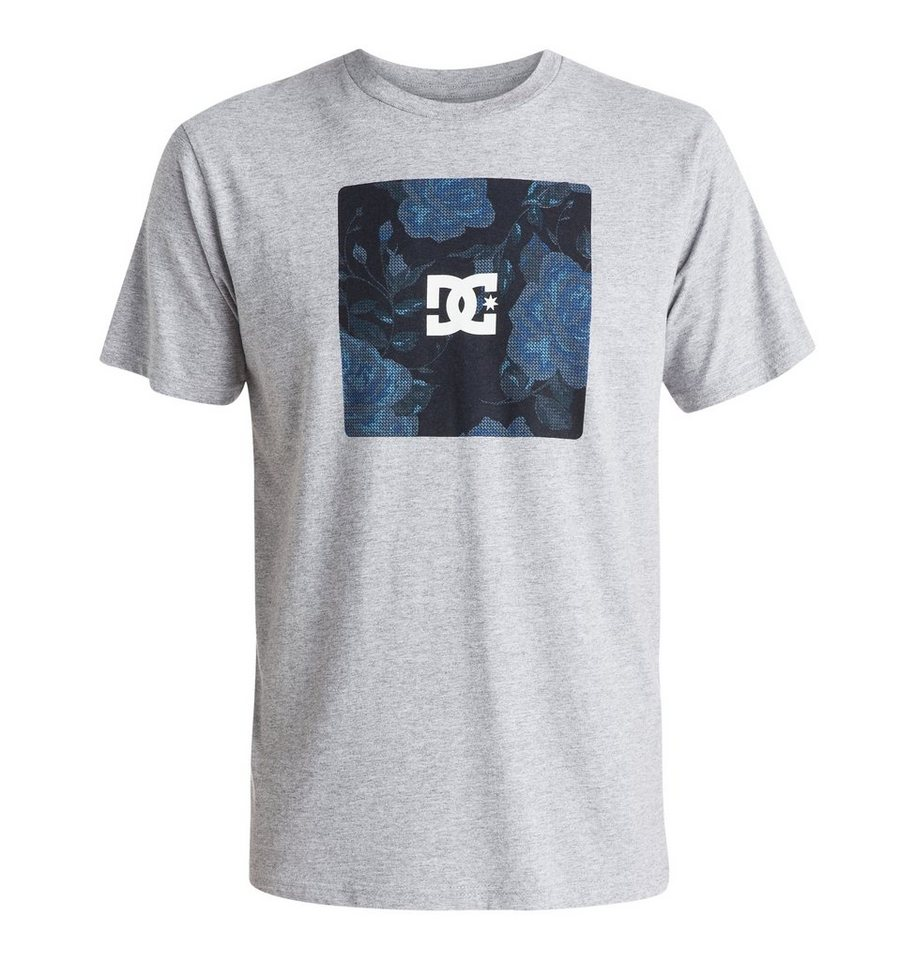 DC Shoes T-Shirt »Nu Roses« in Heather grey