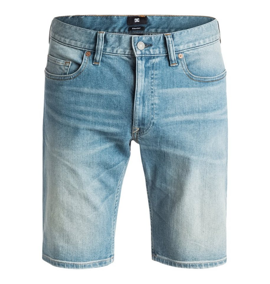 DC Shoes Short »Washed Straight« in indigo bleach
