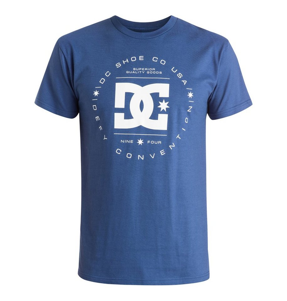 DC Shoes T-Shirt »Rebuilt« in Vintage indigo