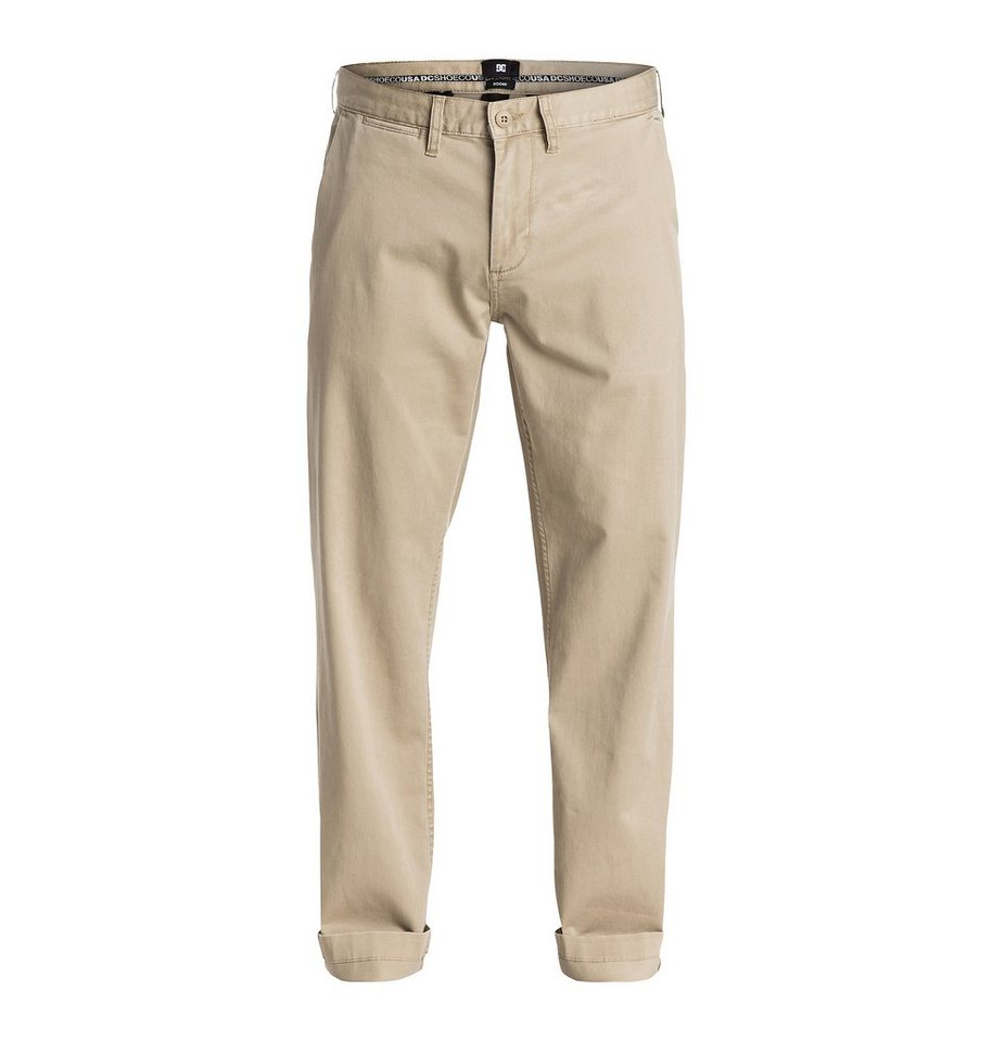 DC Shoes Hose »Worker Roomy Chino 32« in khaki