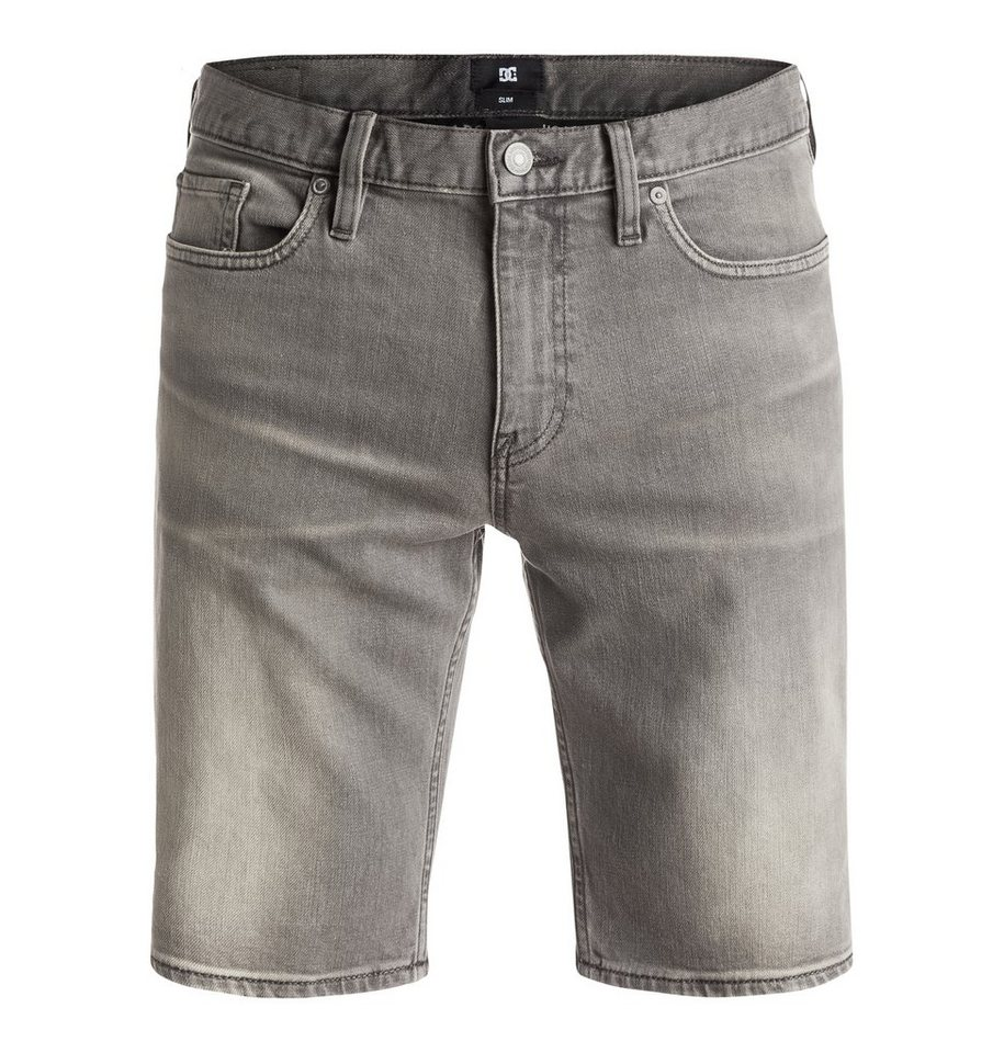 DC Shoes Short »Washed Slim « in light grey