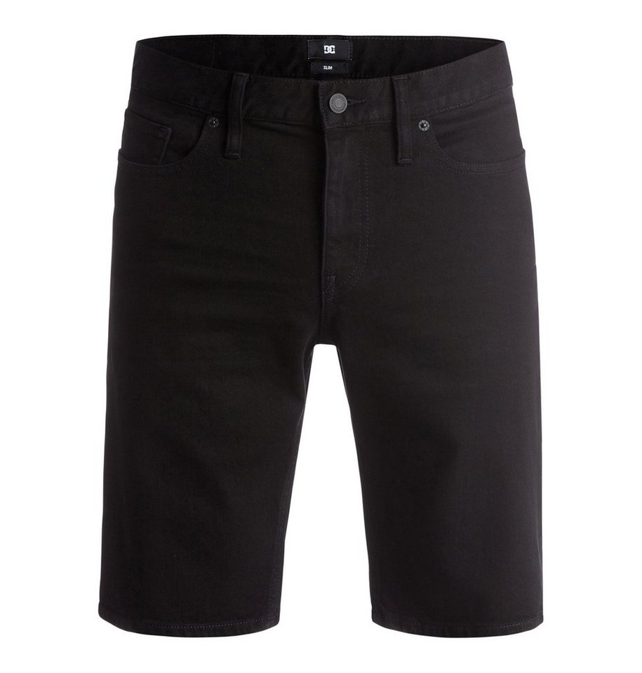 DC Shoes Short »Washed Slim « in black black rinse