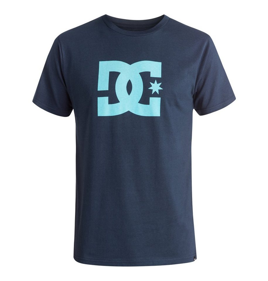 DC Shoes T-Shirt »Star« in Blue iris/blue topas