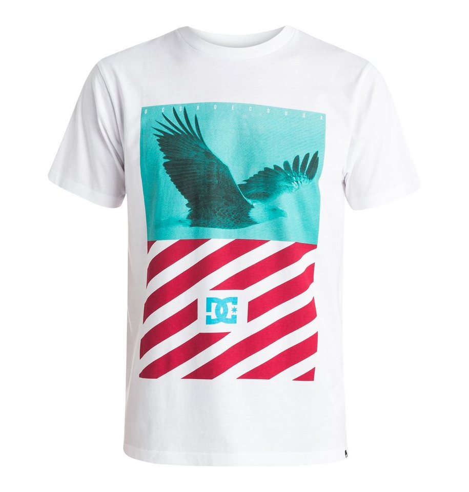 DC Shoes T-Shirt »Skyview« in White