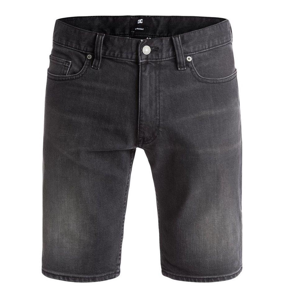 DC Shoes Denim-short »Washed Straight« in medium grey