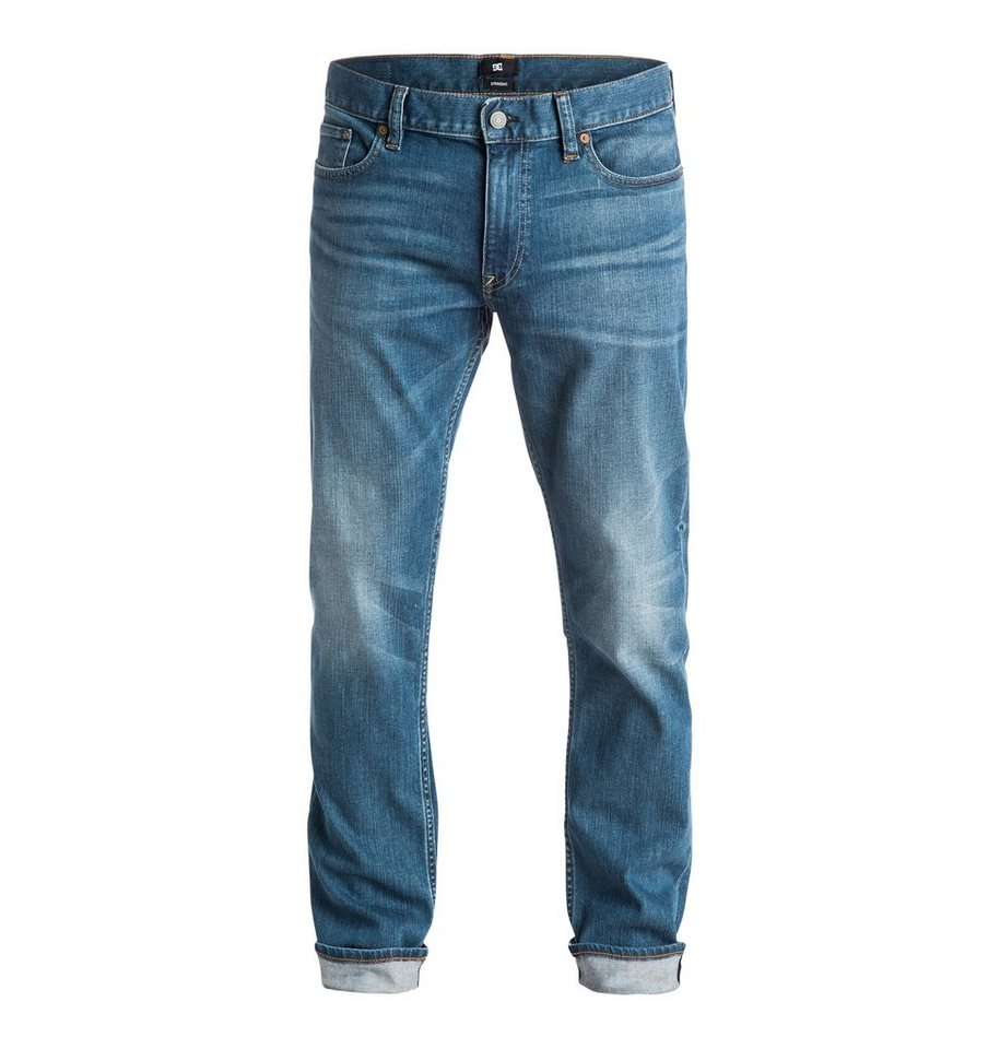 DC Shoes jean »Washed Straight Fit 34« in light stone