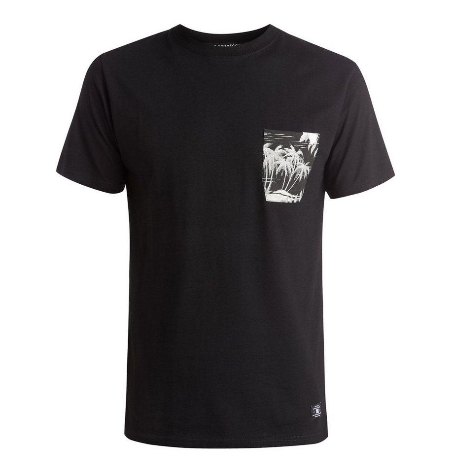 DC Shoes T-Shirt »Woodglen« in cruiser island black
