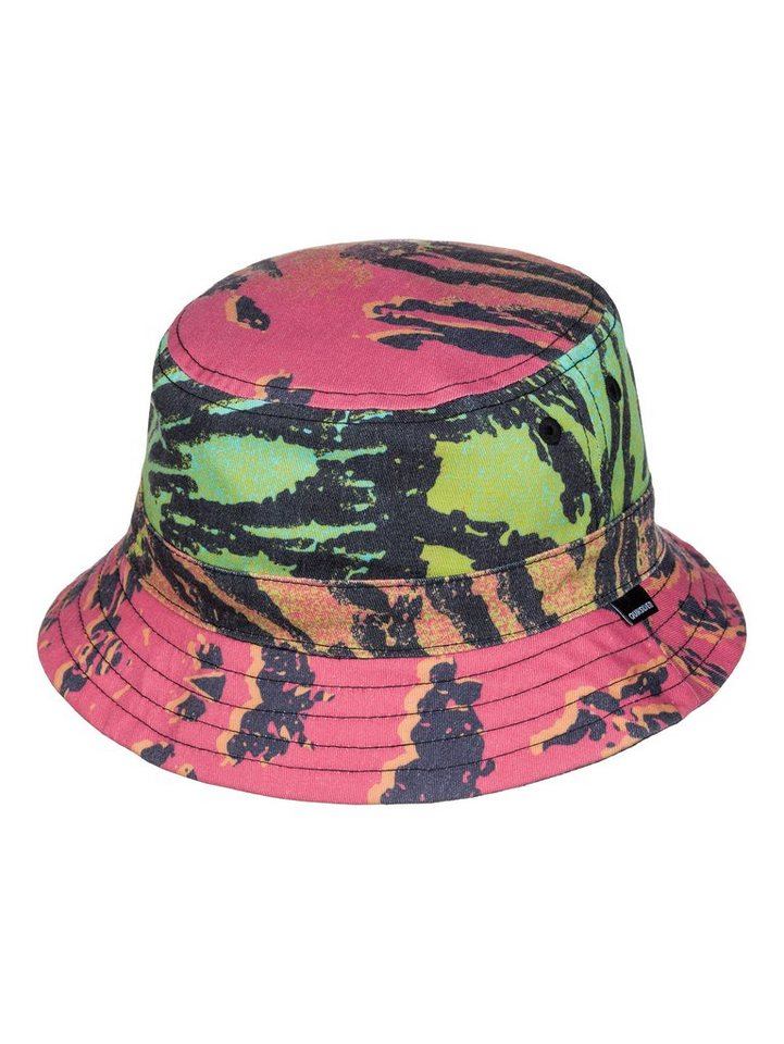 Quiksilver Hut »Mystery Bucket« in Glitched fiery coral