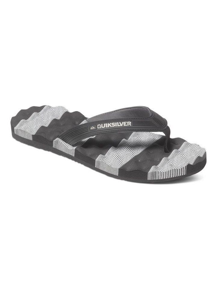 Quiksilver Sandalen »Massage« in black/white/black