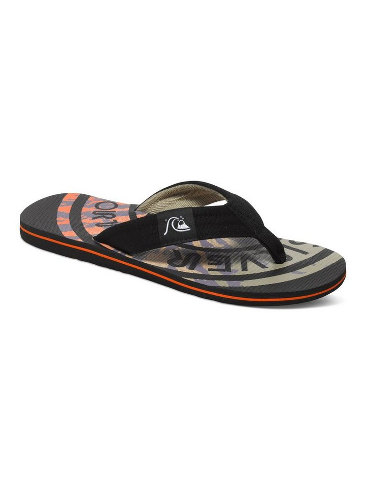 Quiksilver Sandalen »Molokai Layback« in black/red/red