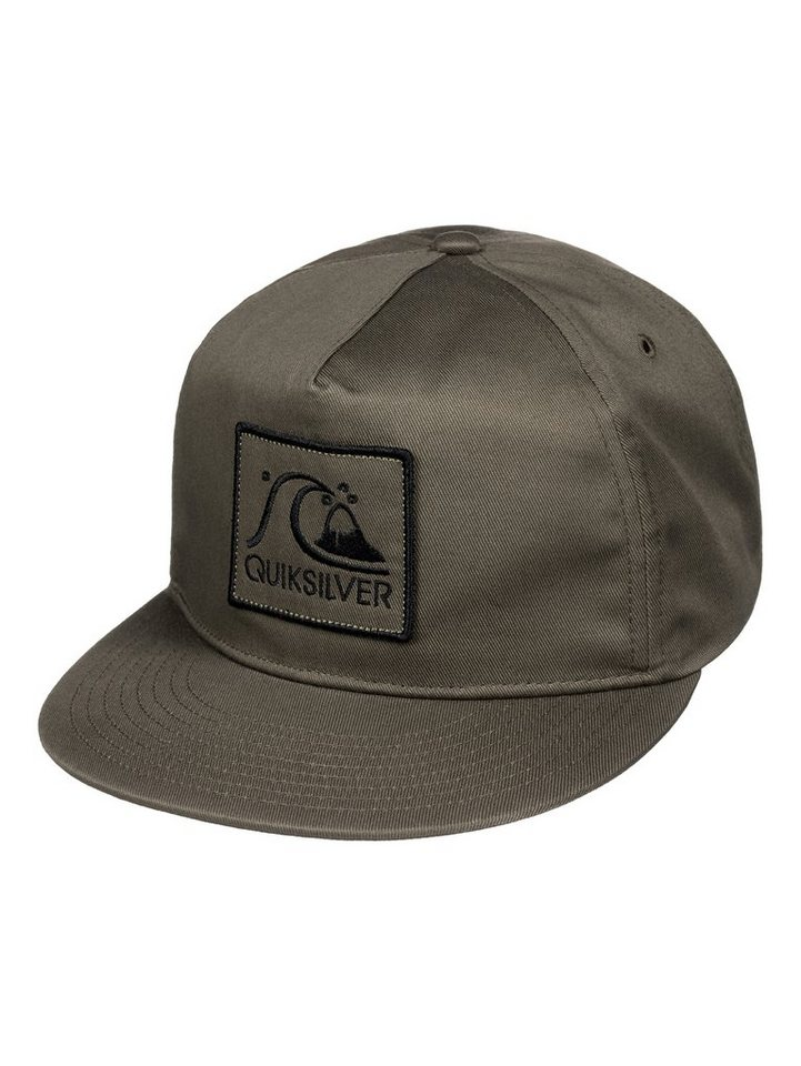Quiksilver Snapback Cap »Graf« in dusty olive
