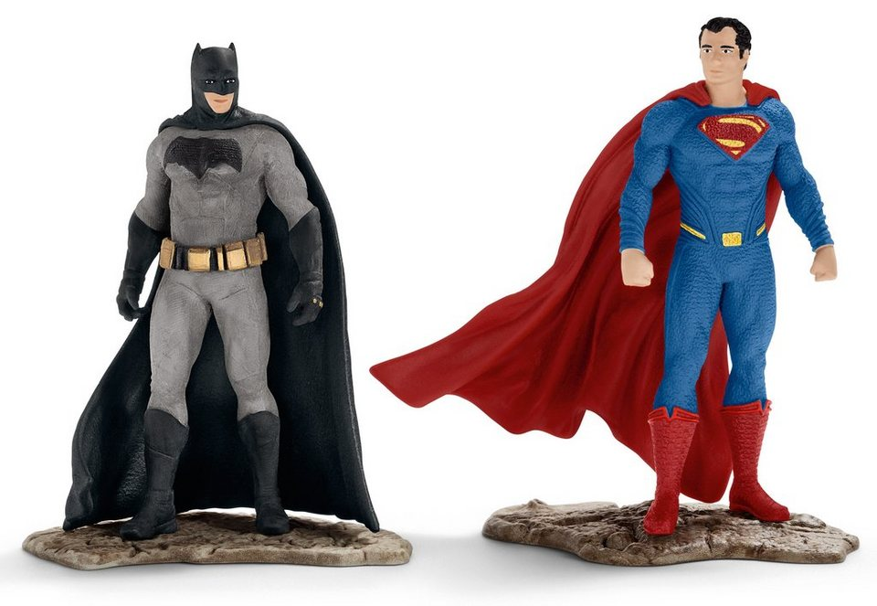 Schleich® Spielfigurenset, »DC Comics™ Justice League - Scenery Pack Batman v Superman« (2tlg.)
