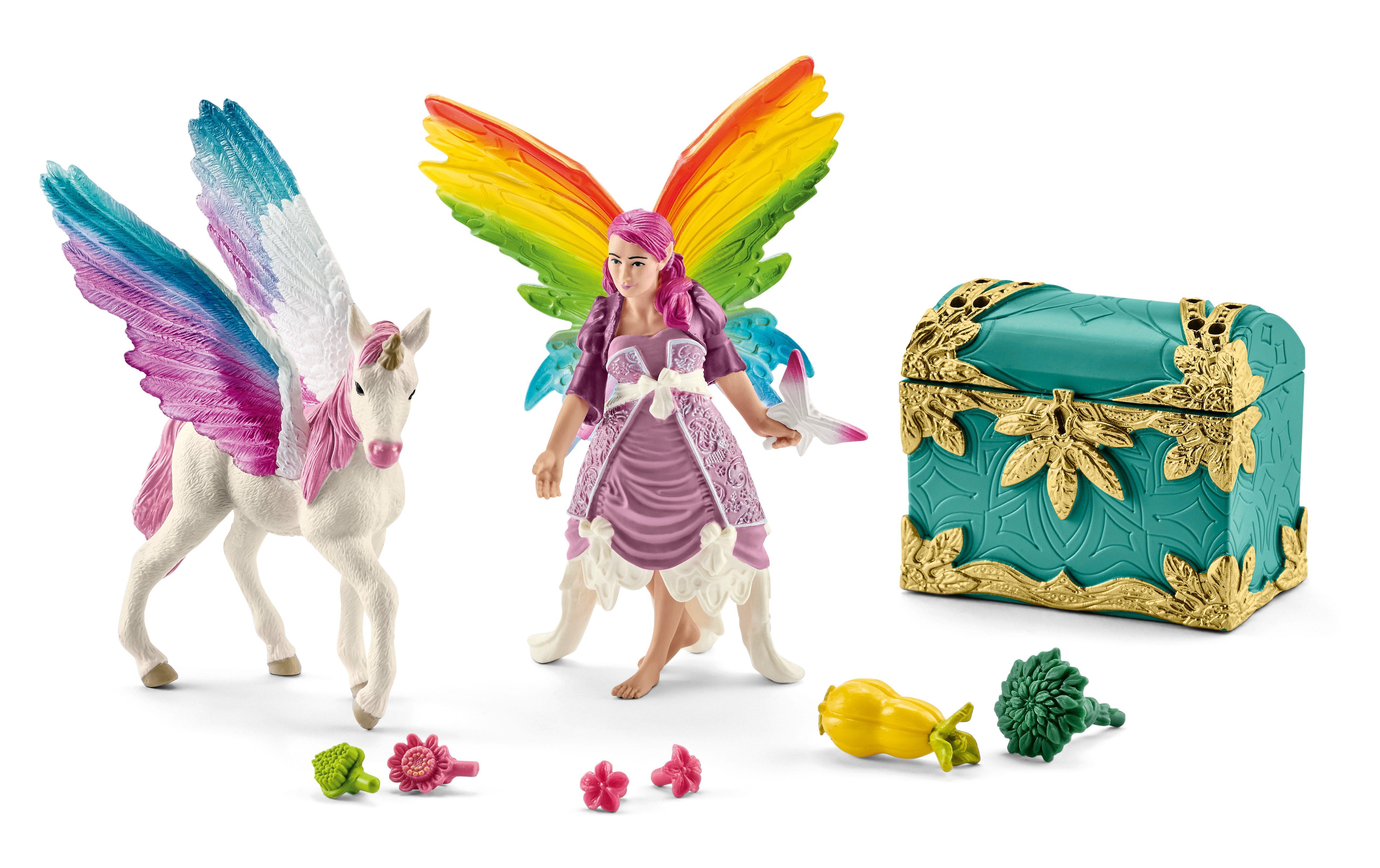 Schleich® Spielfigurenset, »World of Fantasy bayala - Lis mit Pegasusfohlen«