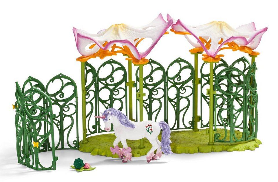 Schleich® Spielfigurenset, »World of Fantasy bayala - Stall für Einhorn und Pegasus«