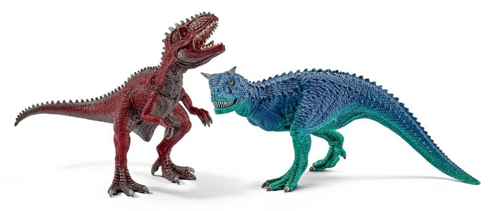 Schleich® Spielfigurenset, »Dinosaurier - Carnotaurus und Giganotosaurus, klein« (2tlg.)