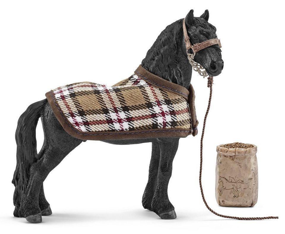 Schleich® Spielfigurenset, »Horse Club - Pferdepflegeset, Friese«