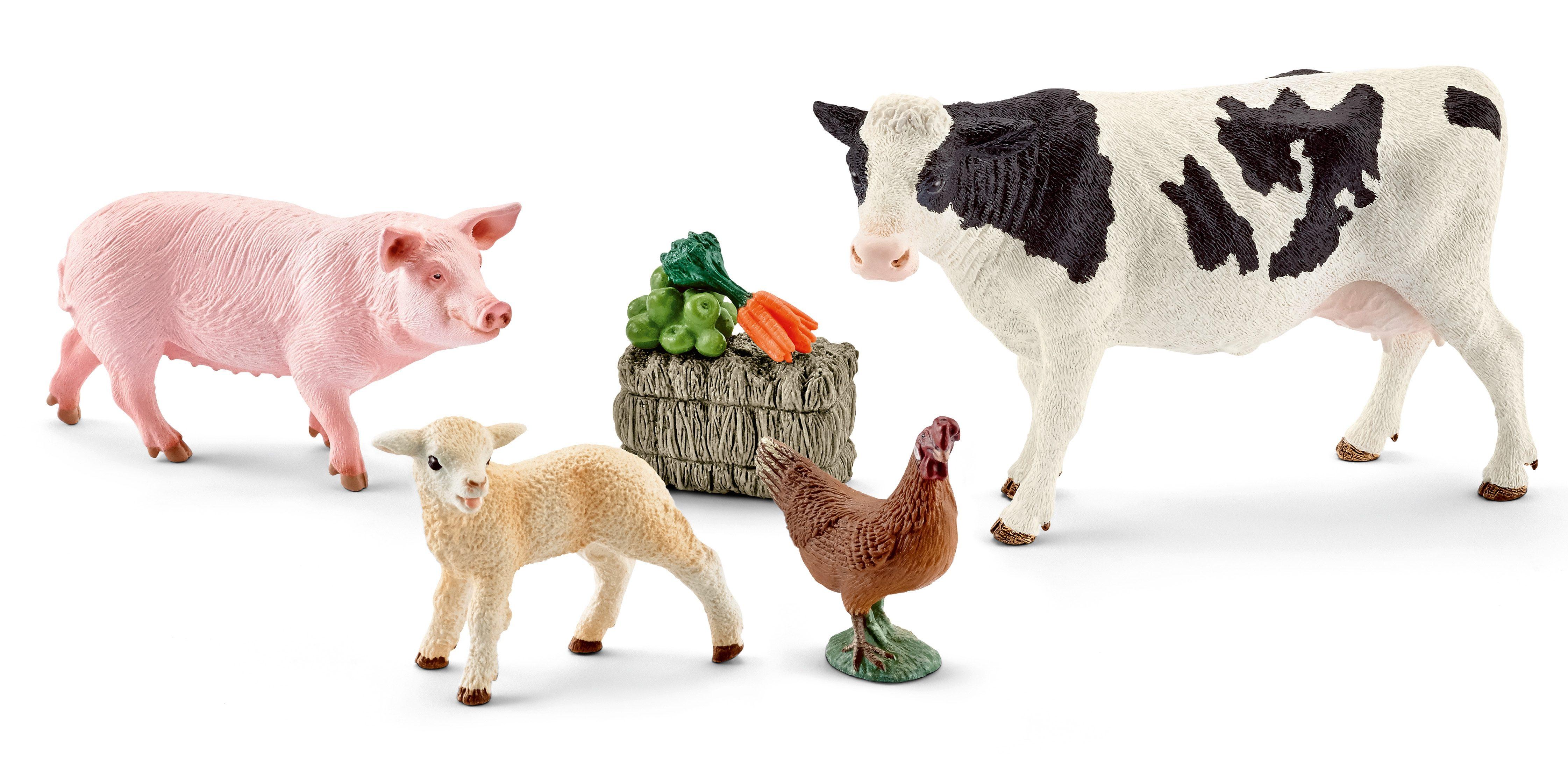 Schleich® Spielfigurenset, »Farm World - Meine ersten Bauernhoftiere«