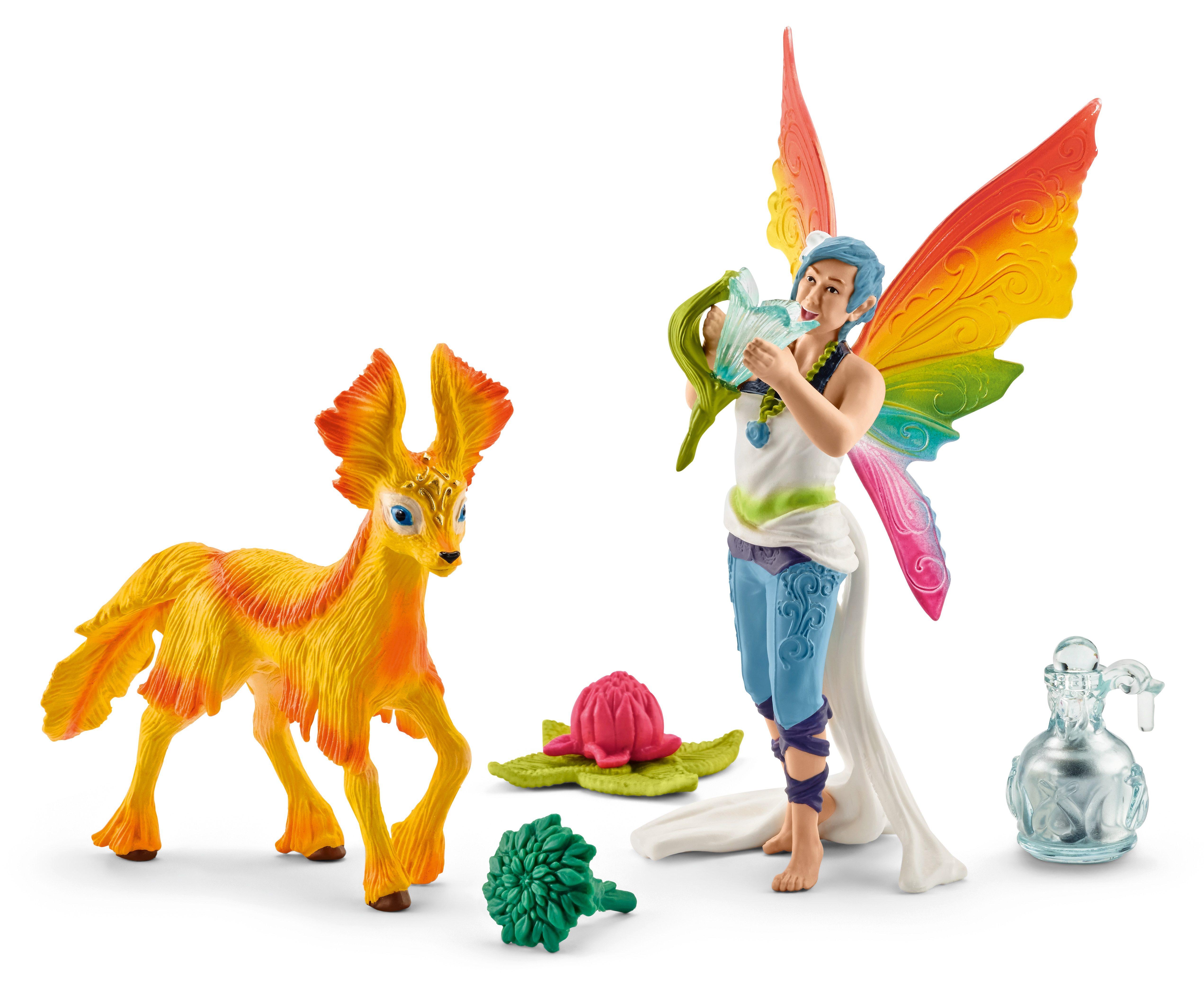 Schleich® Spielfigurenset, »World of Fantasy bayala - Dunya mit Fohlen«