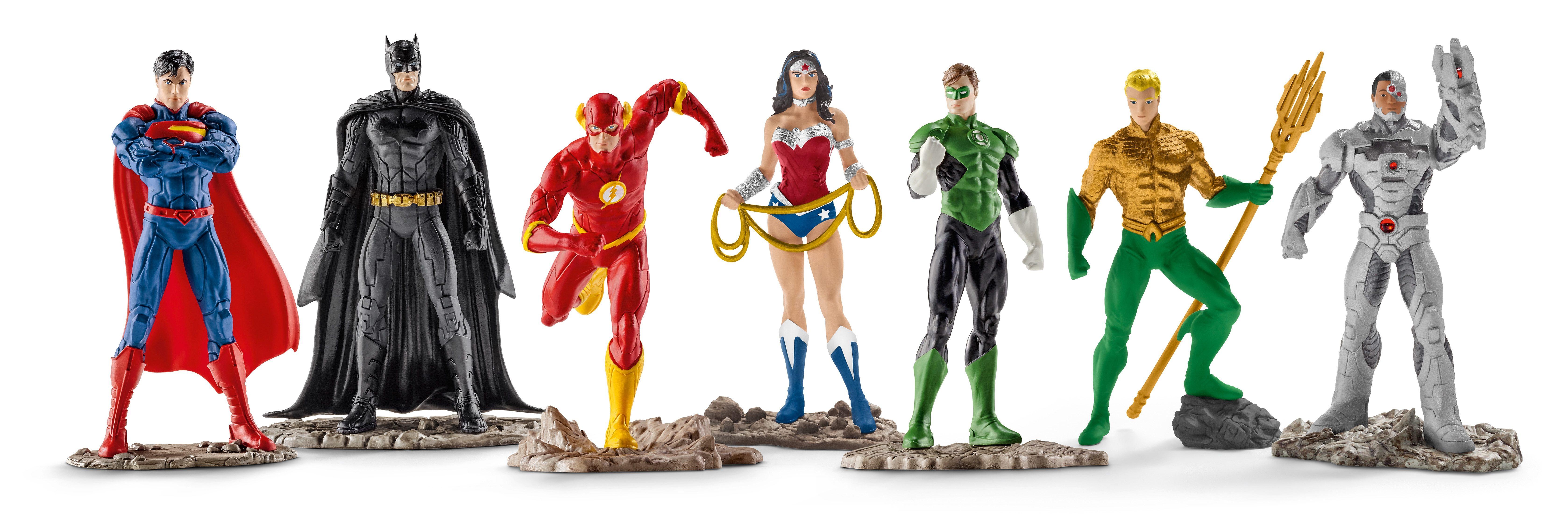 Schleich® Spielfigurenset, »DC Comics™ Justice League - The Justice League« (7tlg.)