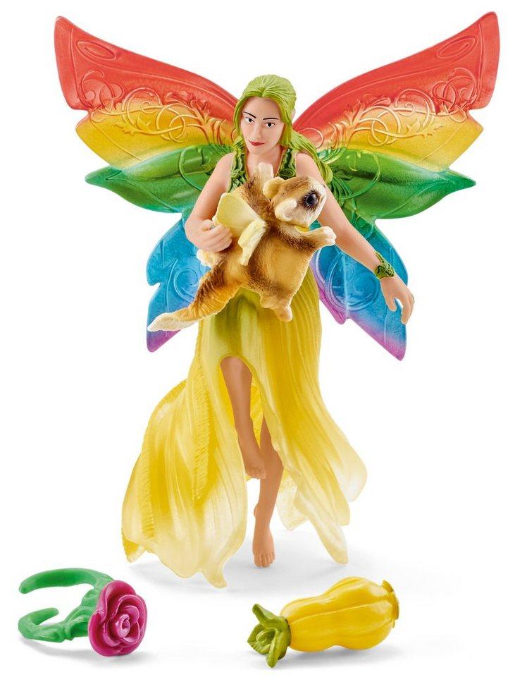 Schleich® Spielfigur, »World of Fantasy bayala - Meena mit Flughörnchen«