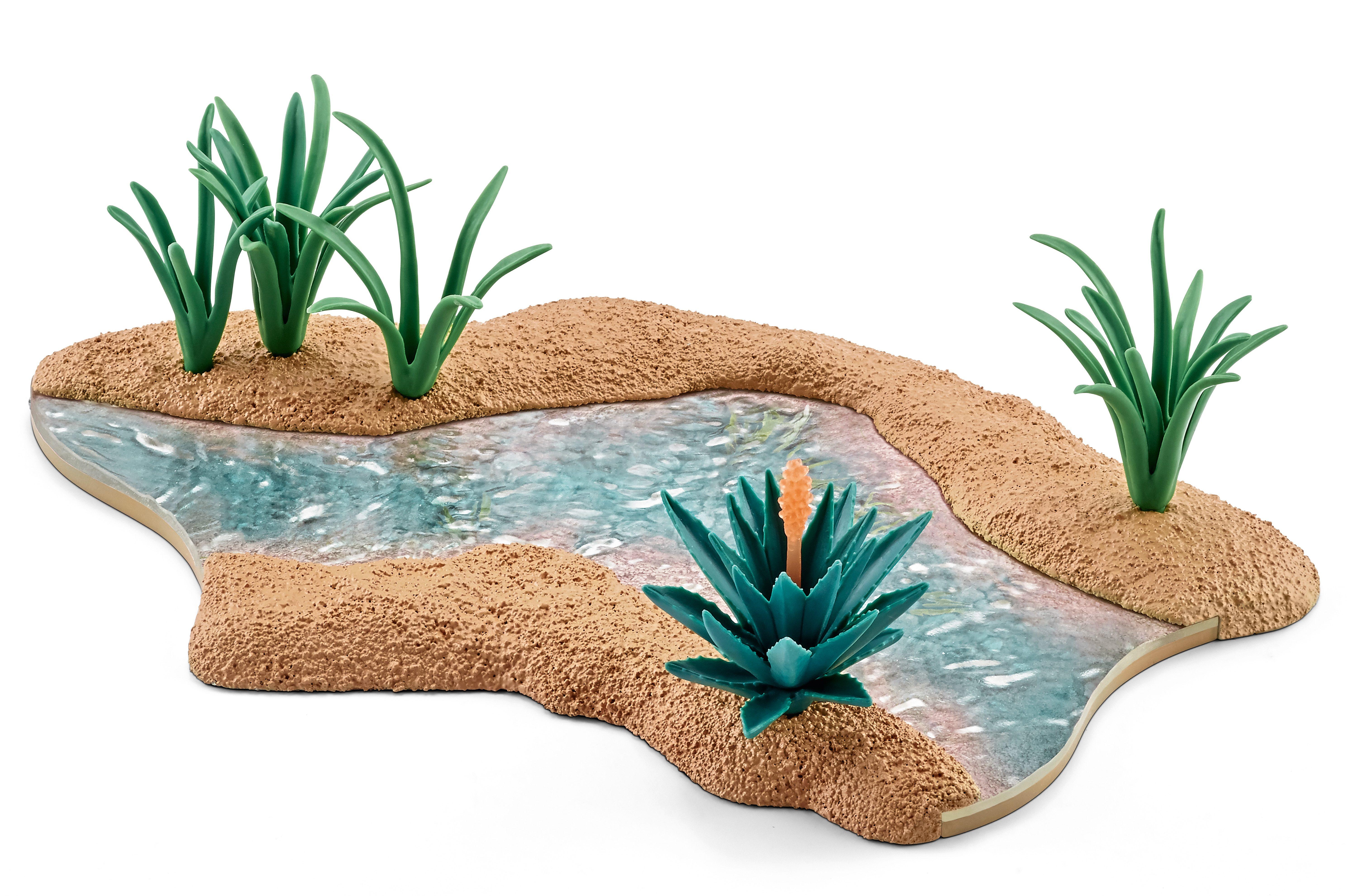 Schleich® Spielfigur, »World of Nature Wild Life - Wasserlauf«