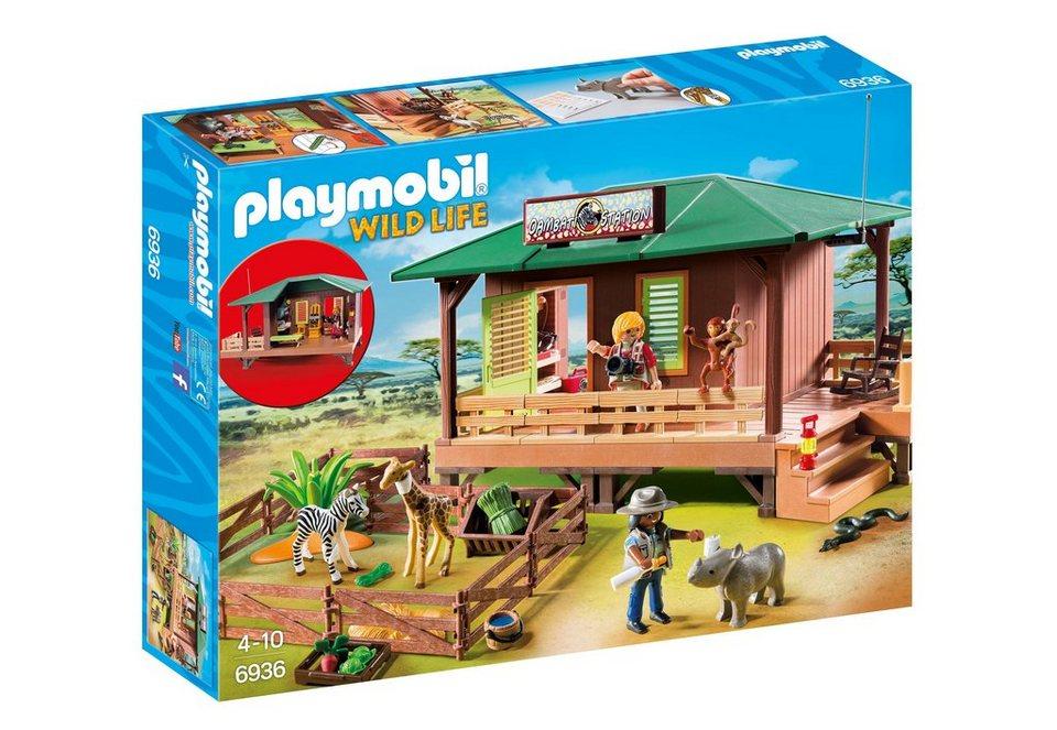 Playmobil® Rangerstation mit Tieraufzucht (6936), Wild Life