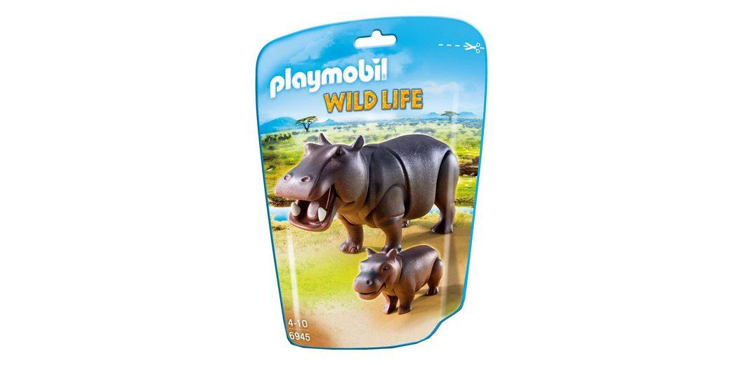 Playmobil® Nilpferd mit Baby (6945), Wild Life