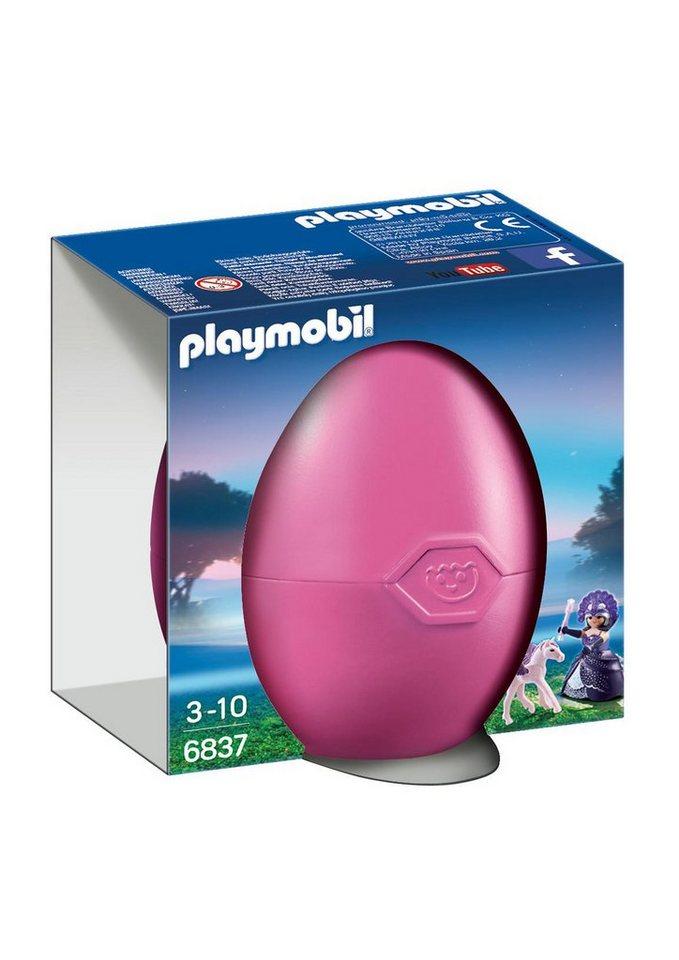 Playmobil® Osterei Mondscheinkönigin mit Baby-Pegasus (6837), Ostern