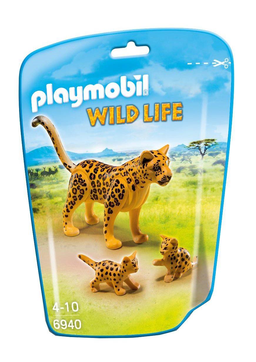 Playmobil® Leopard mit Babys (6940), Wild Life