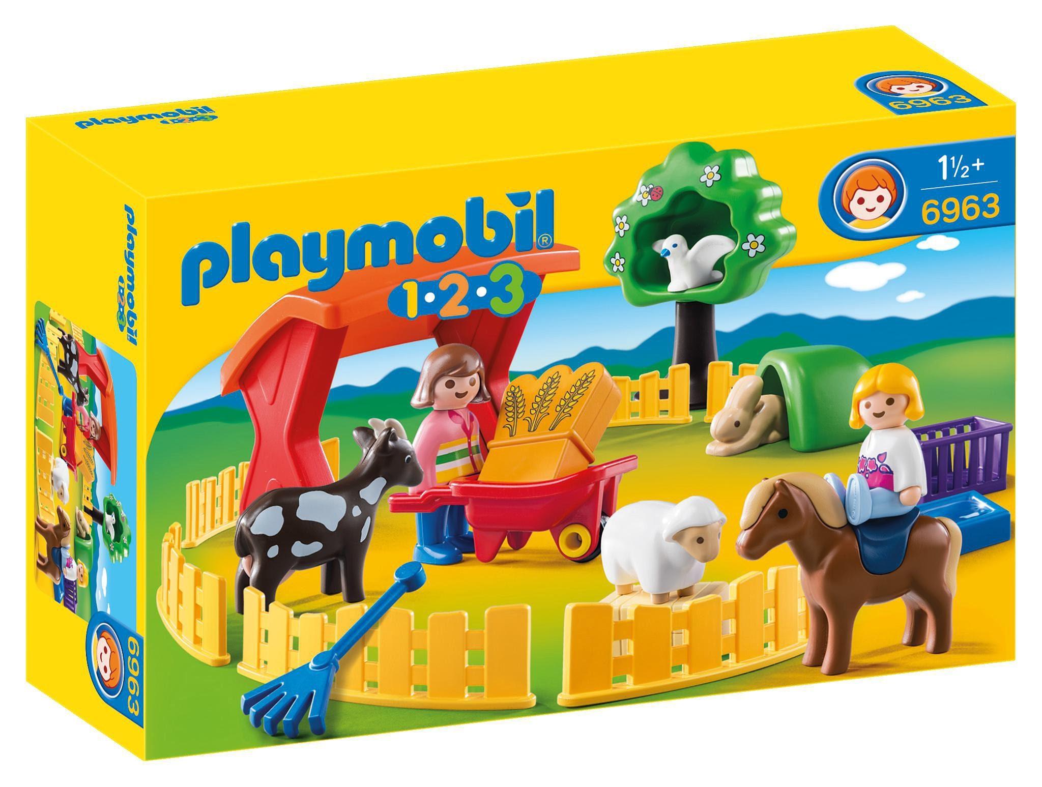 Playmobil® Streichelzoo (6963), 1-2-3