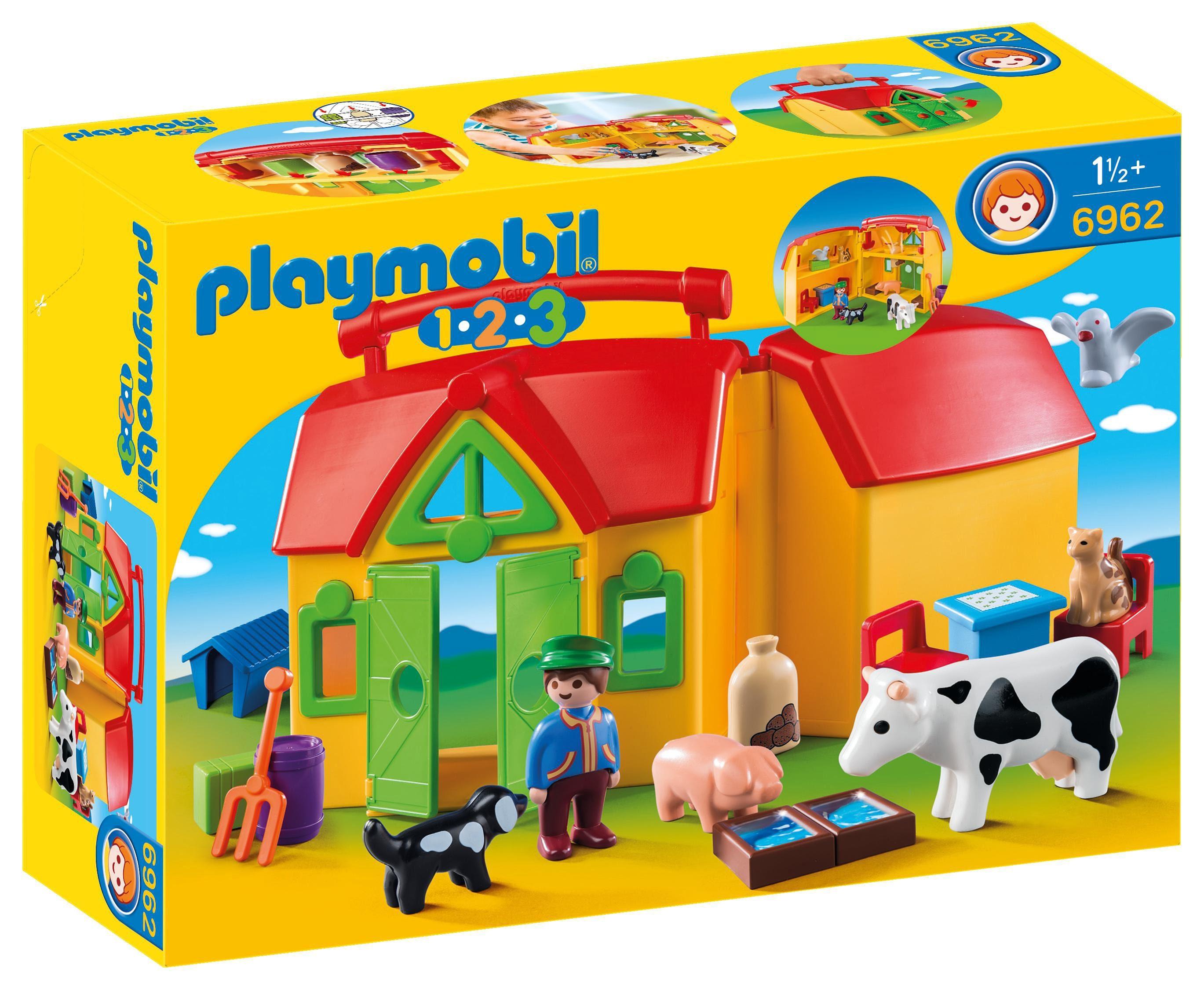 Playmobil® Mein Mitnehm-Bauernhof (6962), 1-2-3