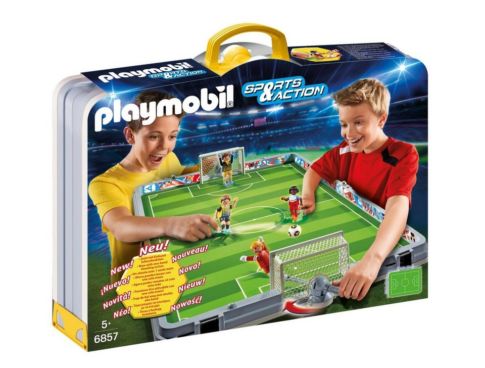 Playmobil® Große Fußballarena zum Mitnehmen (6857), Sports & Action