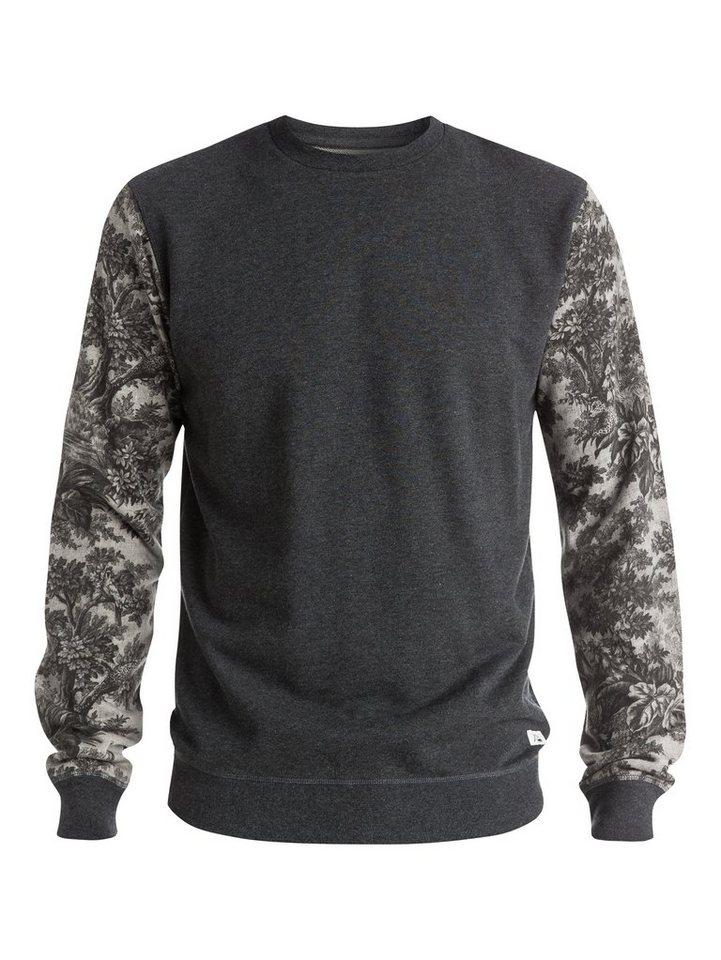 Quiksilver Sweatshirt »Highway Coast« in dark grey heather