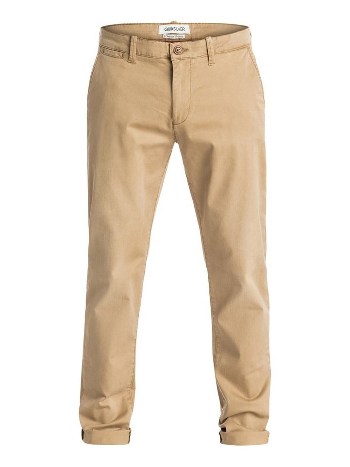 Quiksilver Hose »Krandy Straight Fit Tapered« in british khaki