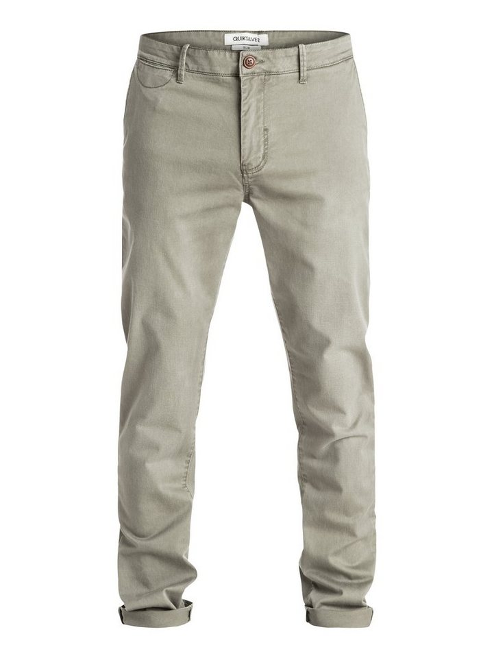 Quiksilver Hose »Krandy Slim Fit« in dusty olive