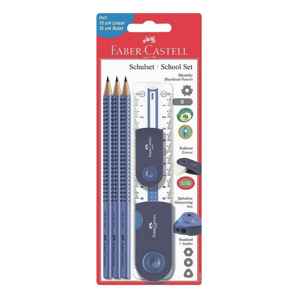Faber Castell Schreibgeräteset »Sleeve« in blau