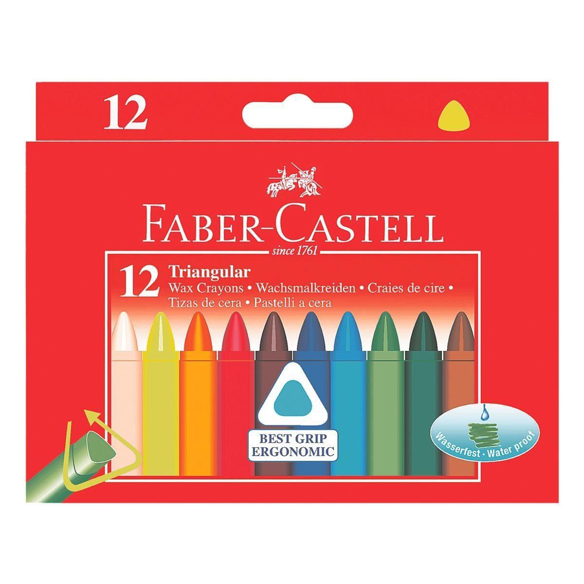 Faber-Castell Wachsmalkreidetifte