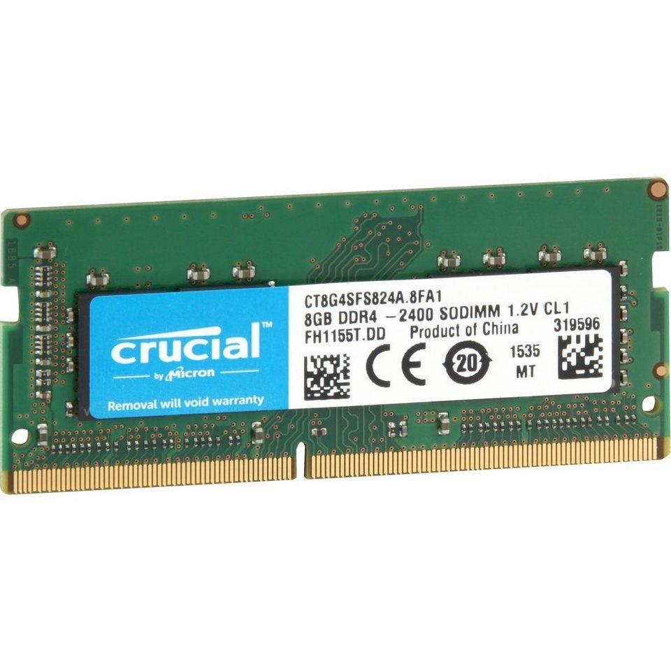 Crucial Arbeitsspeicher »SO-DIMM 8 GB DDR4-2400«