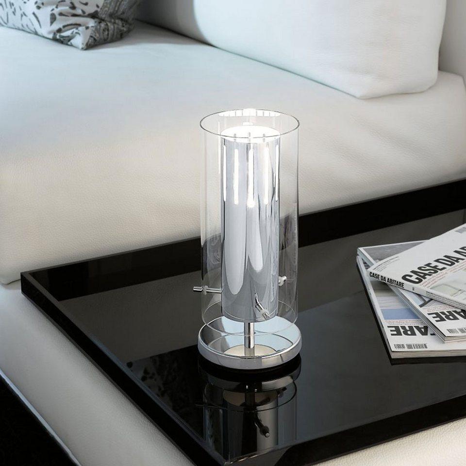 Licht-Trend Tischleuchte »Tischleuchte mit Effektstrahlen« in Silber