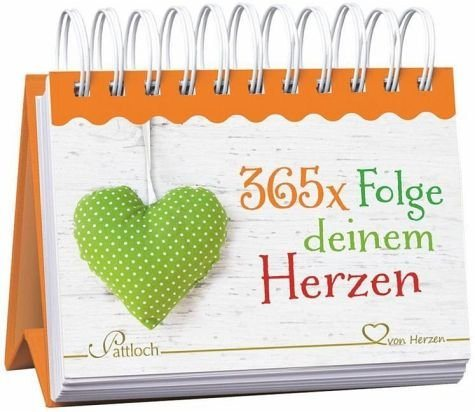 Kalender »365 x Folge deinem Herzen«