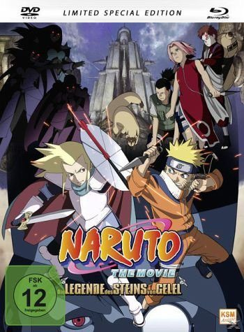 Blu-ray »Naruto - The Movie 2: Die Legende des Steins...«