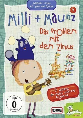 DVD »Milli + Maunz - Das Problem mit dem Zirkus«