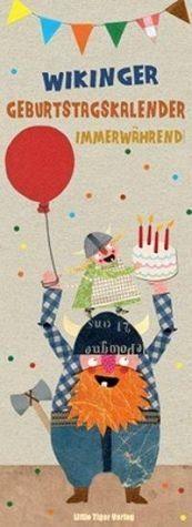 Kalender »Wikinger-Geburtstagskalender immerwährend«