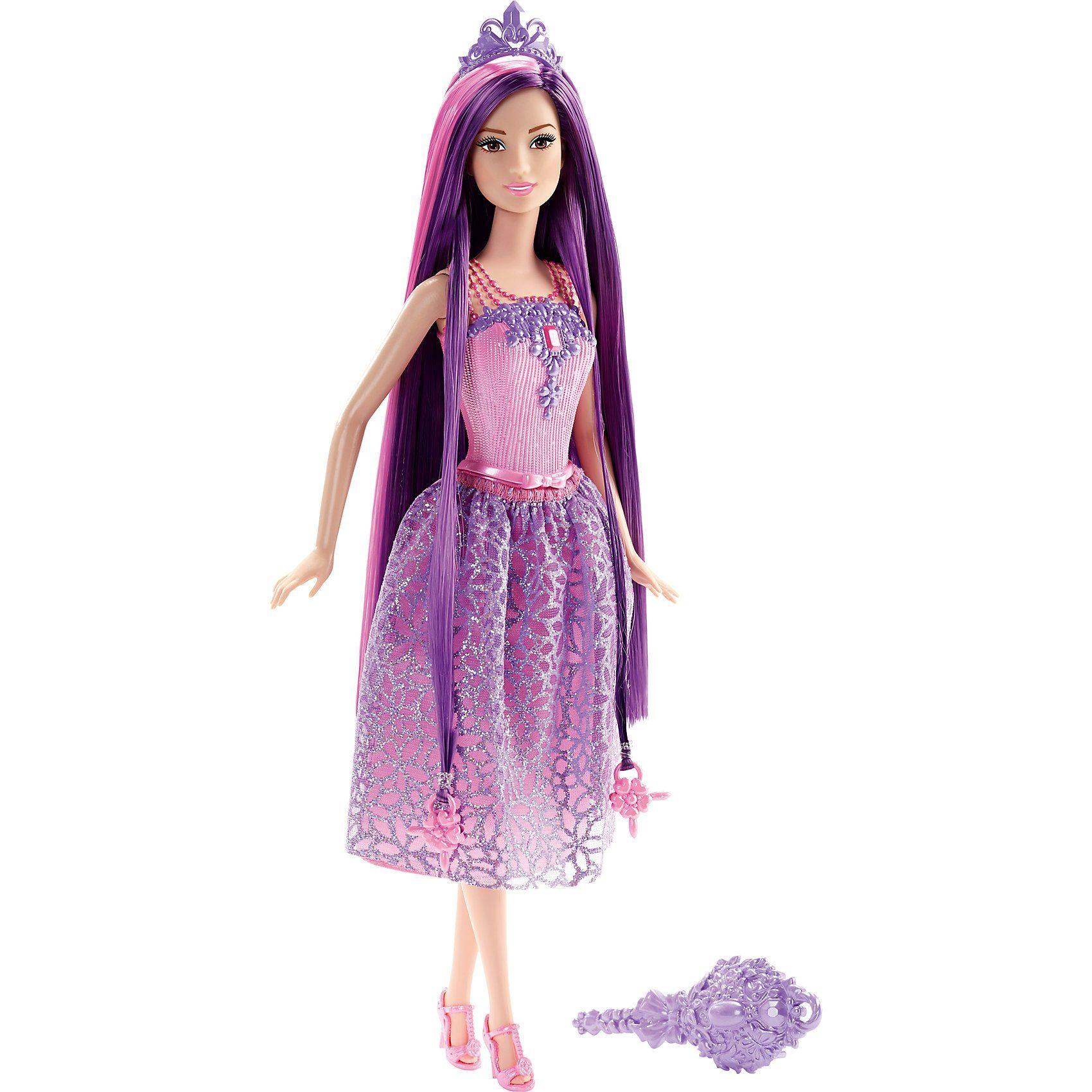 Mattel® Barbie Zauberhaar Prinzessin - Lila