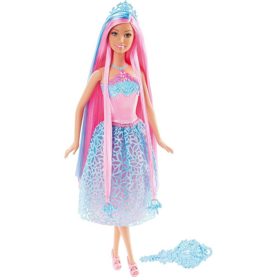 Mattel Zauberhaar Prinzessin - Blau