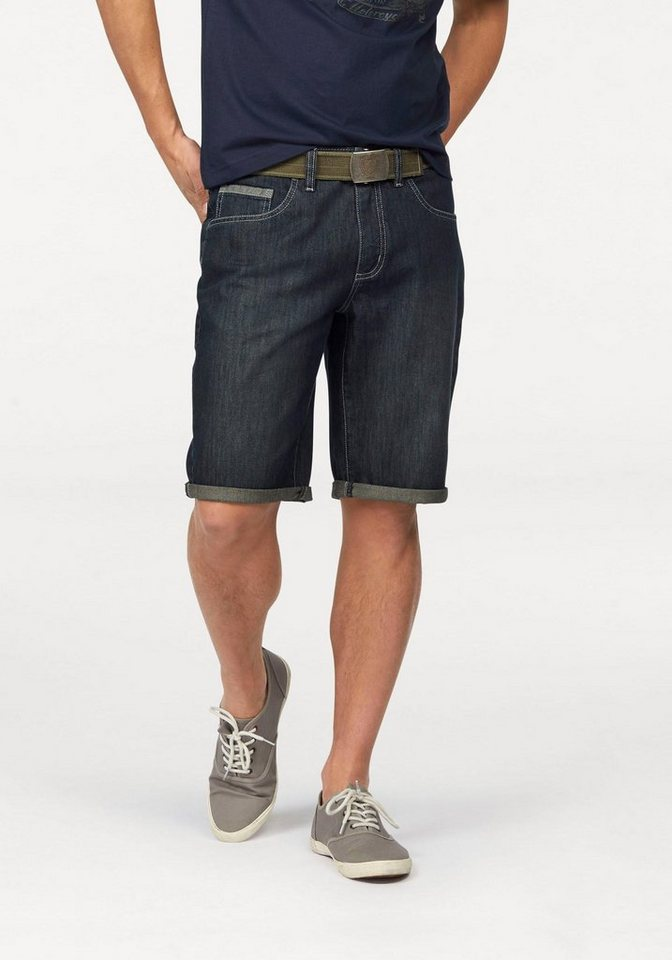 Arizona Bermudas in darkblue