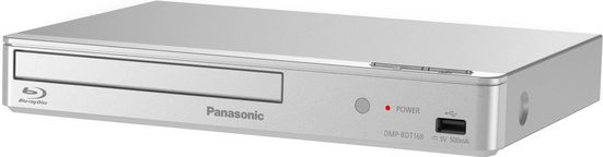 Panasonic »DMP-BDT168« Blu-ray-Player (Full HD, LAN (Ethernet), Schnellstart-Modus, 3D Effect Controller)