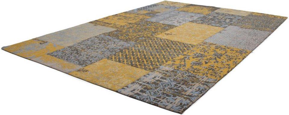 Teppich, Kayoom, »Symphony 160«, reine Baumwolle, handgewebt in Gold