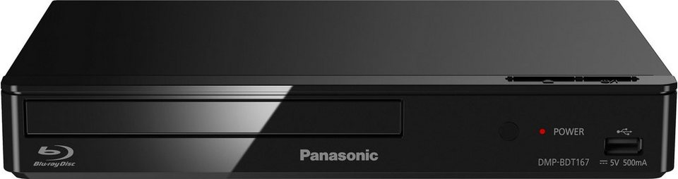 panasonic dmp bdt167 168 3d blu ray player 3d f hig. Black Bedroom Furniture Sets. Home Design Ideas
