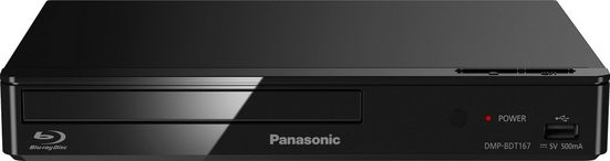 Panasonic »DMP-BDT167« Blu-ray-Player (LAN (Ethernet), Schnellstart-Modus, 3D Effect Controller)